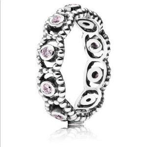 [ Pandora ] Her Majesty Ring, Pink